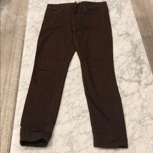 VINCE Brown Jeans